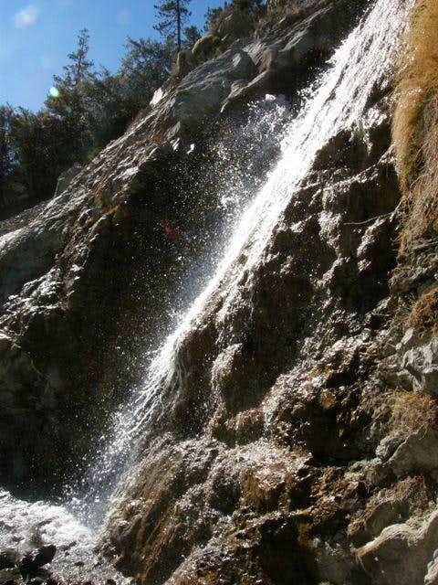 San Antonio Falls in the sun