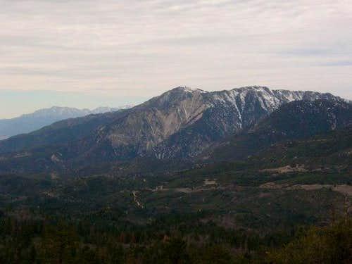 Keller Peak and Baldy