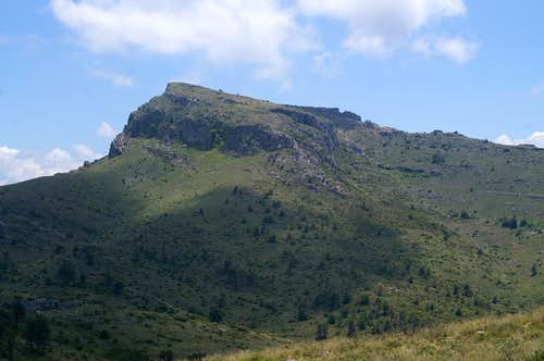 Montcabrer from the north