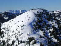 Mt. McCausland in winter