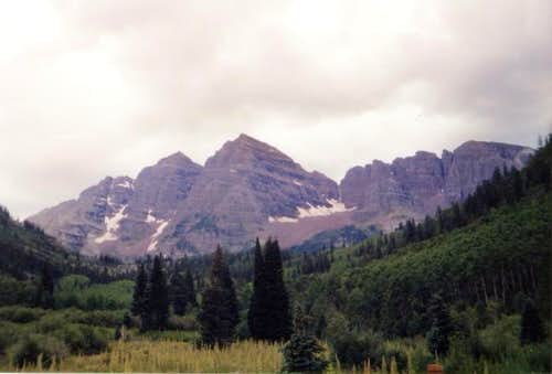 The Maroon Bells: (South)...