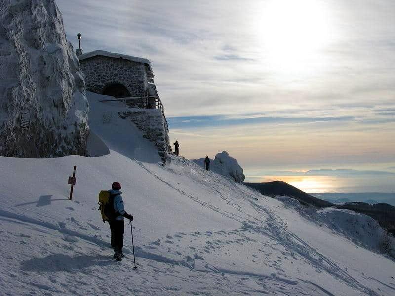 Afternoon at Snježnik mountain