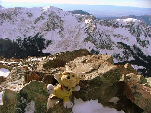 GT on Wheeler Peak, NM. (4,011 m/13,161 ft).