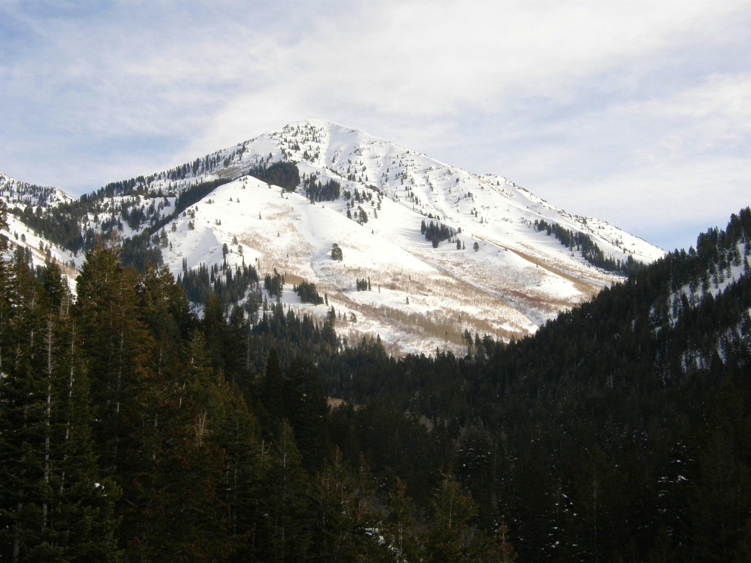 Provo Peak via Rock Canyon - The Third Time\'s the Charm