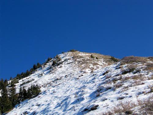 The West Ridge at 9,500'
