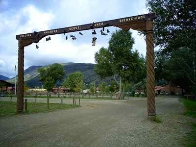 Philmont Main Gate