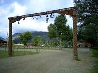 Philmont Main Gate