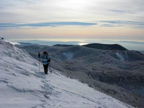 On Snježnik ridge