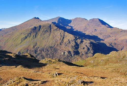 Snowdon Horseshoe from Y Cribau