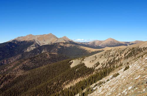 Pecos, view from East Pecos Baldy