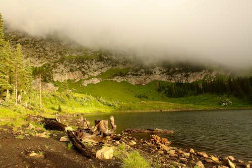 Morning, Pecos Baldy Lake