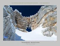 Monte Forato - Prestreljenik