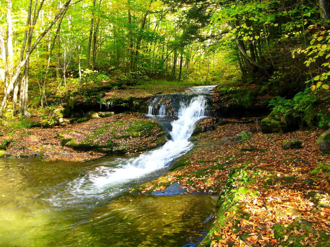 A Very Nice Little Waterfall : Photos, Diagrams & Topos