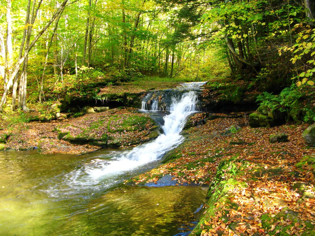 a very nice little waterfall