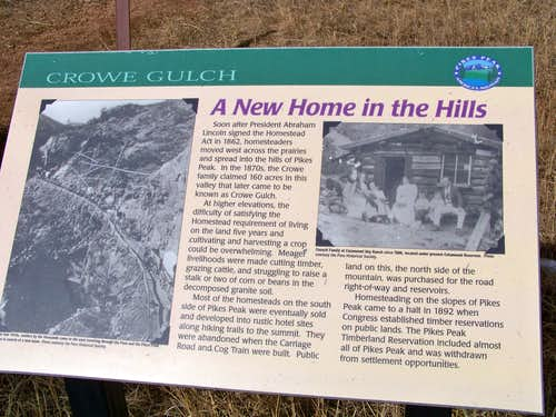 About the Crow Family, Crow Gulch Namesake