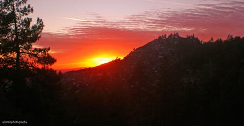 Idyllwild Sunset