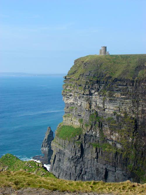 Cliffs in March