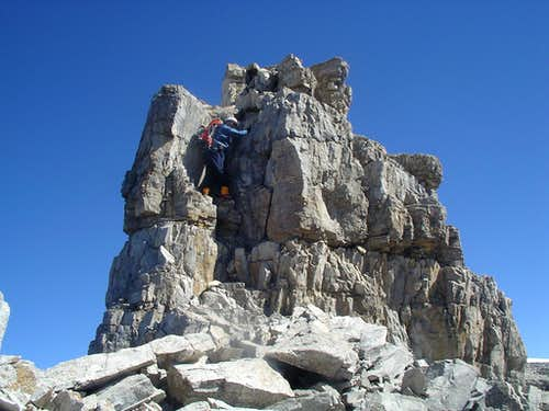 Mount Stephen Scramble TR - Route Discussion