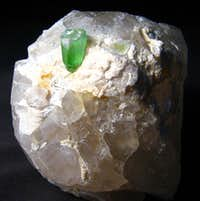 Tourmaline with Quartz from Afghanistan