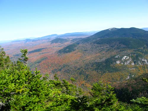 Baldpate Mountain during the fall