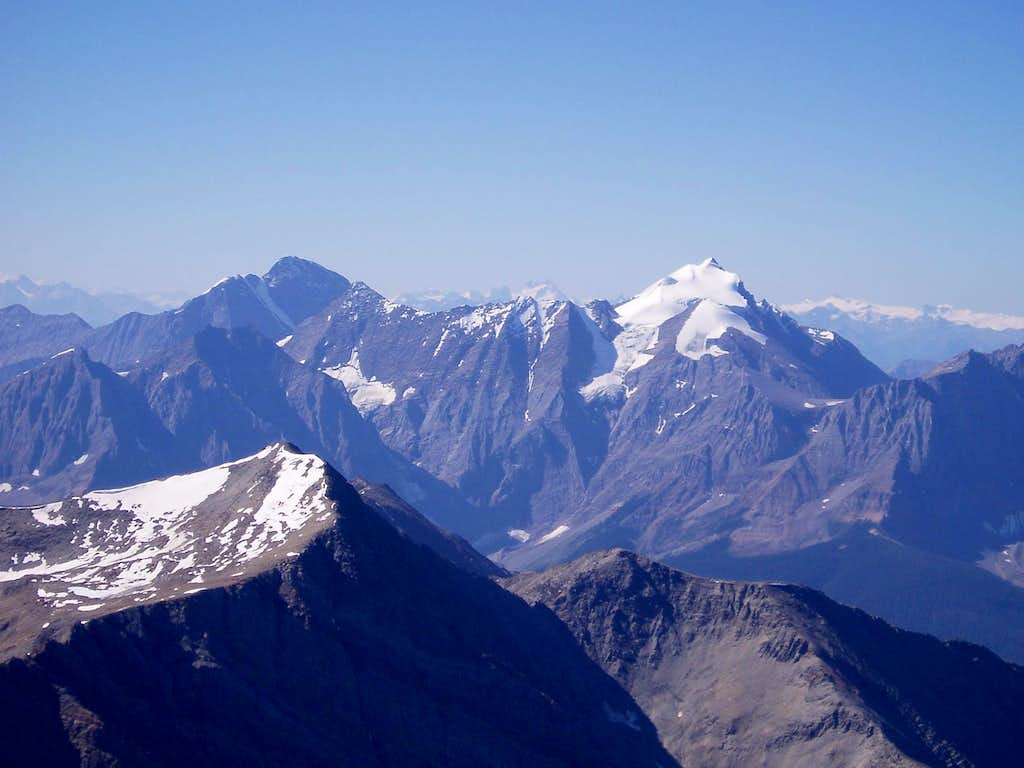 Mount Vaux and Bugaboos