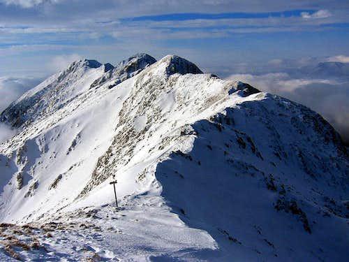 Piatra Craiului - north ridge
