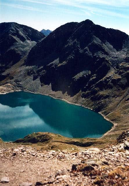 Arzkersee / Lago di Quaira to...