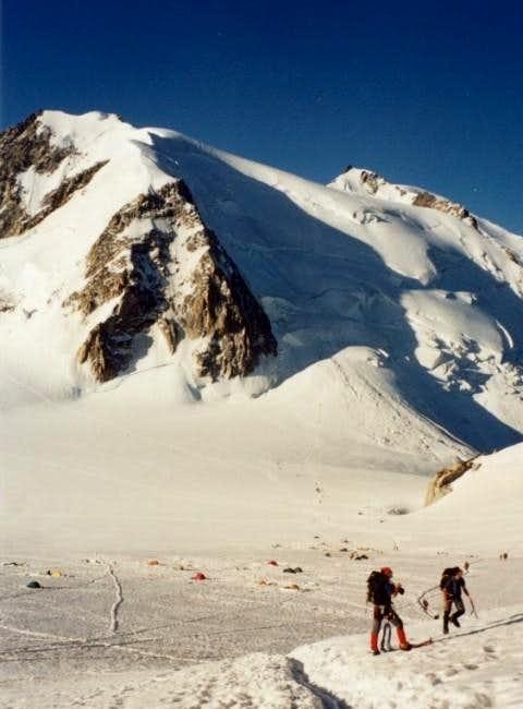 Mont Blanc du Tacul north...