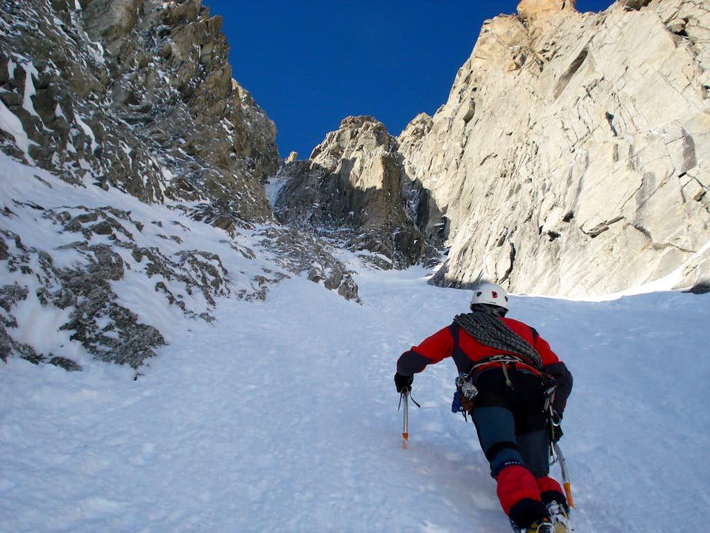 Alpine climbing at it's best!