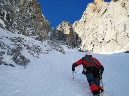 Alpine climbing at it\'s best!