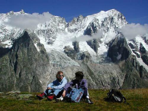 Monte Bianco italian side:...