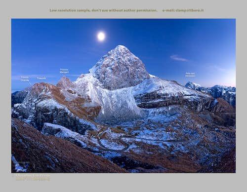 Mangart and Moon