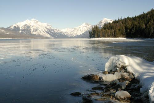 Winter in Glacier National Park (MT)