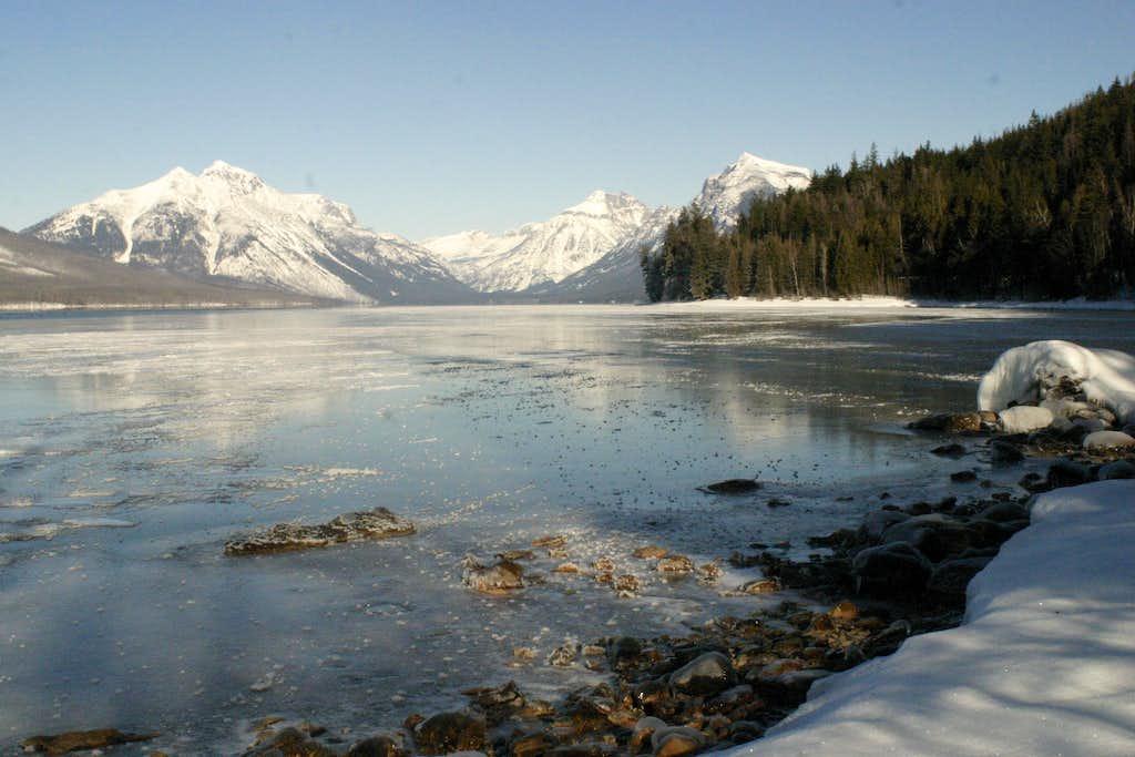 Winter in Glacier National Park (MT) : Photos, Diagrams ...