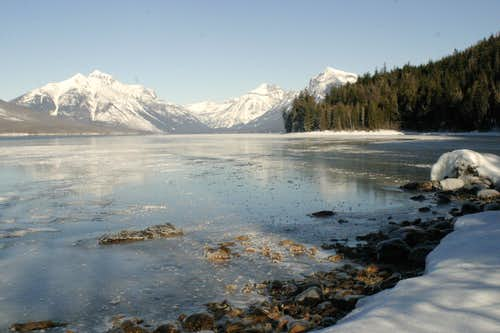 Winter in Glacier National Park (MT)