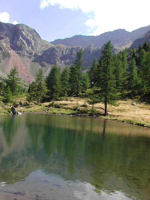 Comboè lake  <i>(2100m)</i>