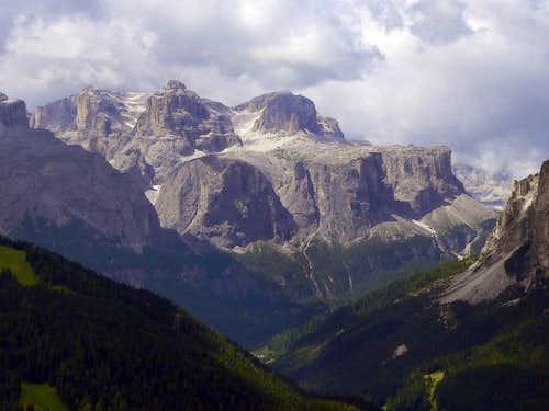 Sella Group from Val Badia