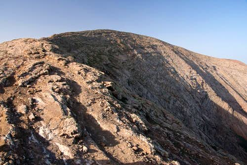 Caldera Blanca Summit