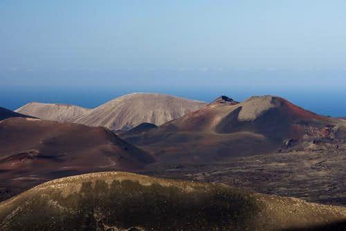 Montaña de Senalo in front of Caldera Blanca