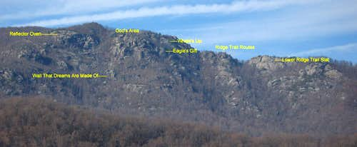 Old Rag-- East-side Crags