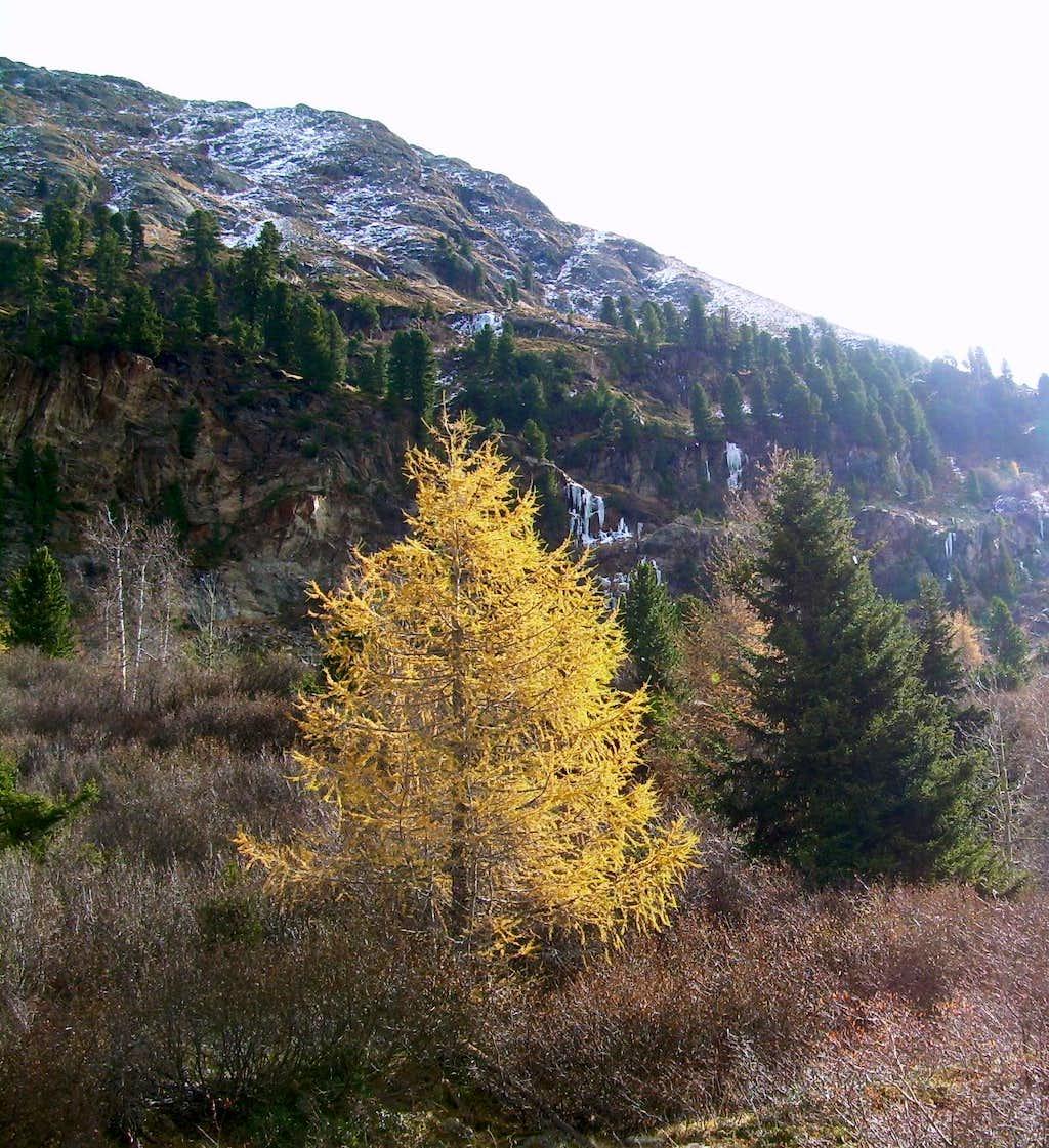 Autumn in the Kaunertal