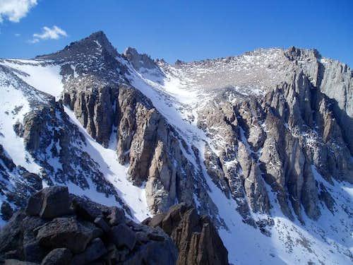 View from Lone Pine Peak