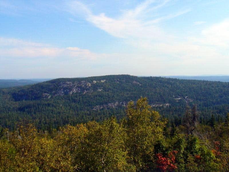 Ishpatina Ridge view northeast