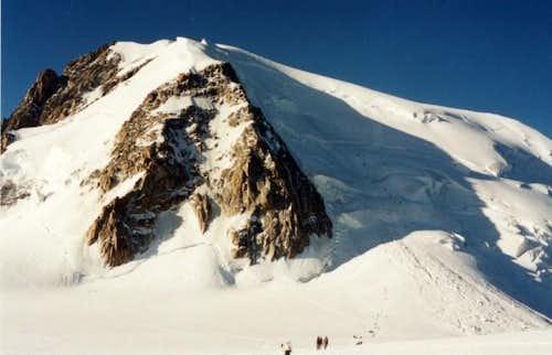 North face of Mont Blanc du...