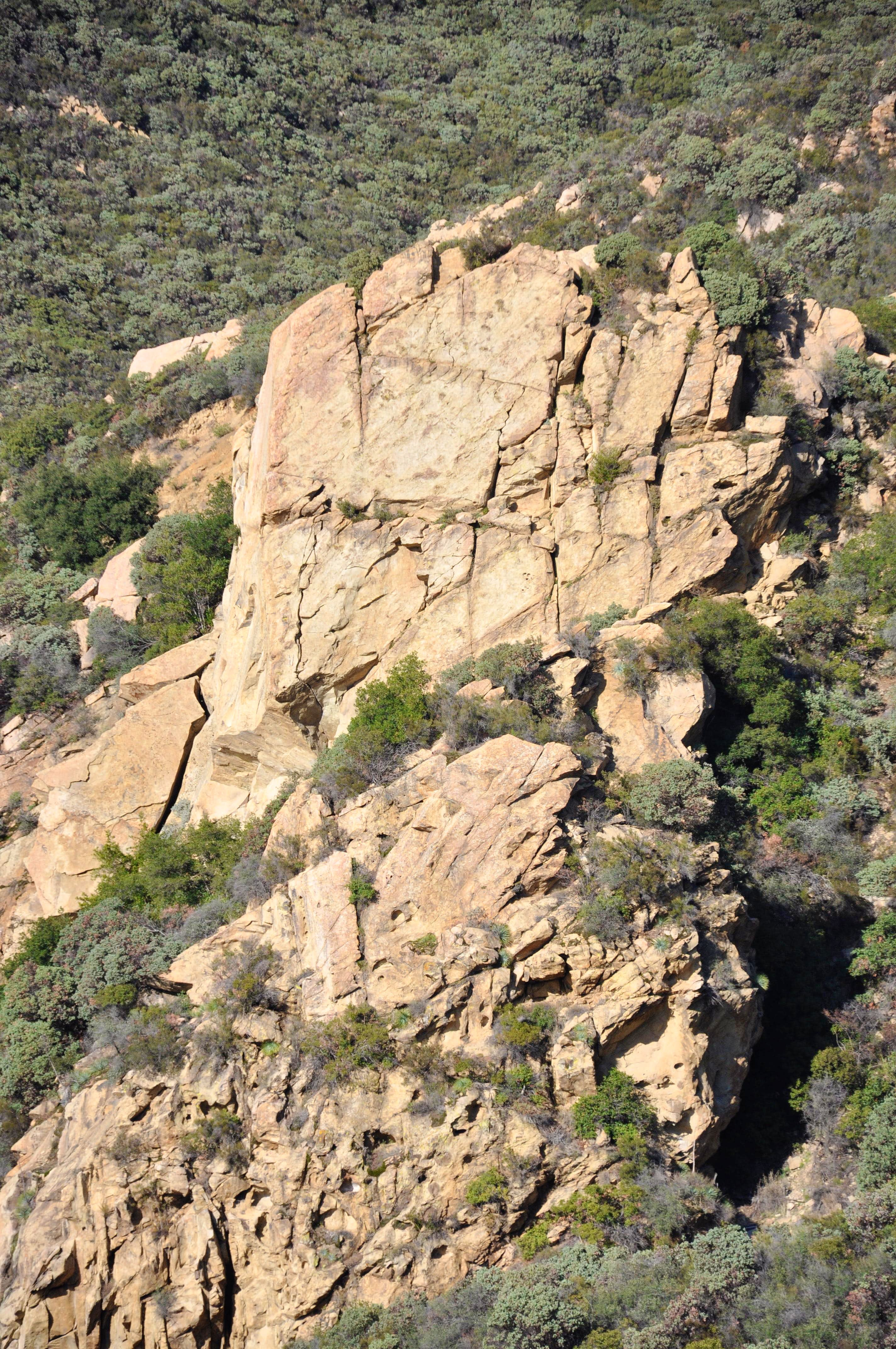 South Face of Gibraltar Rock