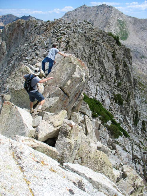 Pfeifferhorn Ridge Scramble