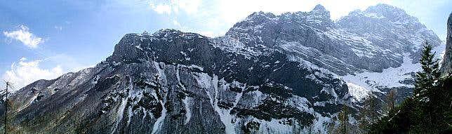 Rjavina mountains above Kot...