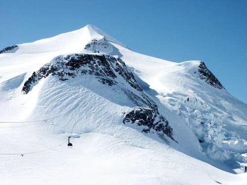 Summit of Grande Motte (march...