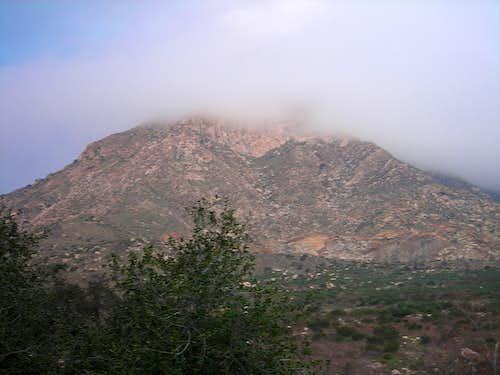 El Cajon Mtn - El Capitan 2