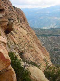 El Cajon Mtn Wall - El Capitan 24